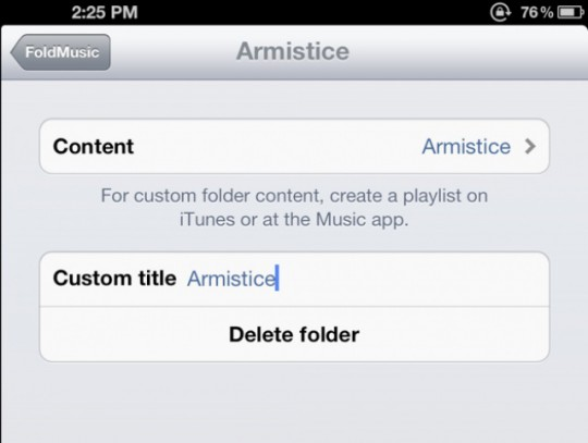 FoldMusic jailbreak