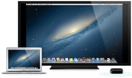 Airplay Mirroring Apple TV Mountain Lion