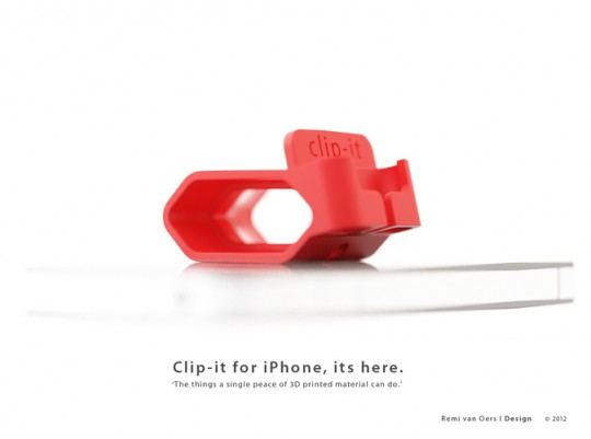 Clip-It iPhone charger