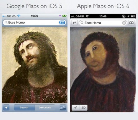 Maps iOS 6 meme
