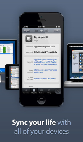 1Password 4 iOS app
