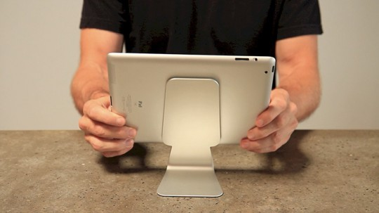 Slope stand for iPad