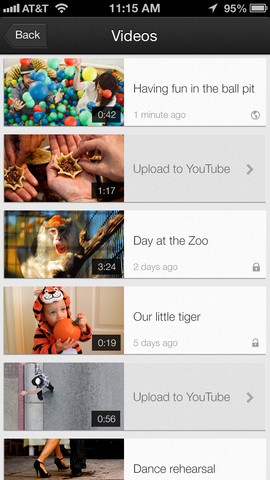 YouTube Capture for iOS