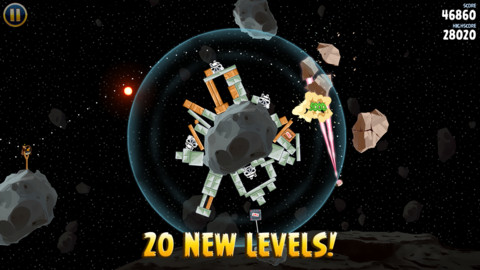 Angry Birds Star Wars new levels
