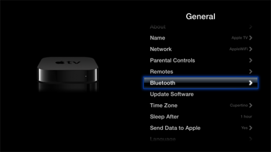 Bluetooth Apple TV