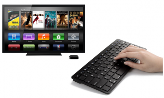 Bluetooth keyboard for Apple TV
