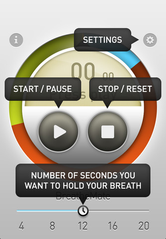 BreatheMate iOS app