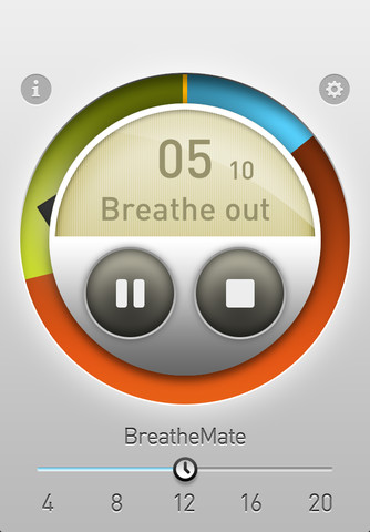 BreatheMate for iPhone
