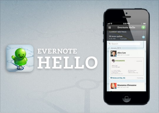 Evernote Hello