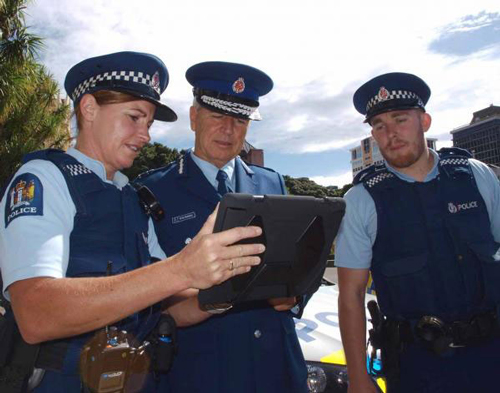 iPad for police