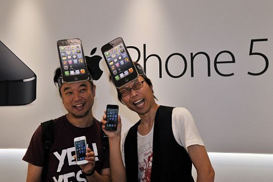 iPhone 5 in Japan