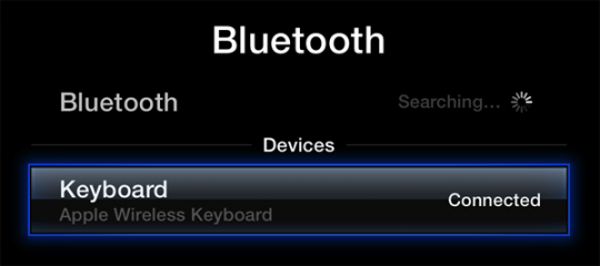 Keyboard Bluetooth ATV