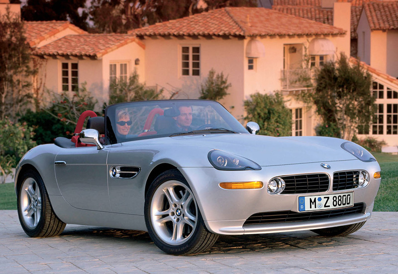 2000 BMW Z8; top car design rating and specifications