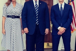 tim-cook-donald-melania-trump